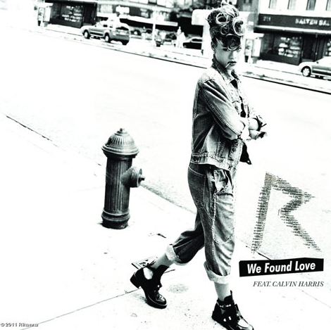Rihanna - 'We Found Love' Cover Art