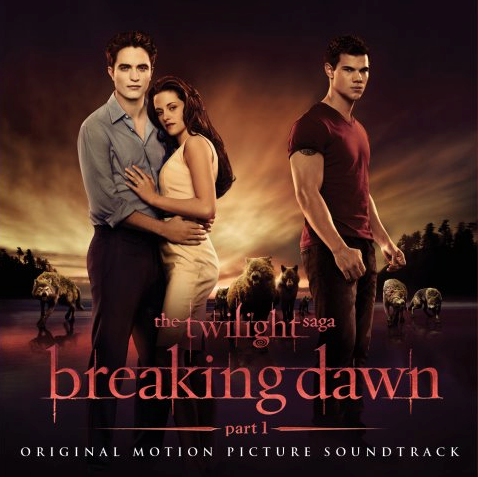 Breaking Dawn Part 1 - Soundtrack Cover Art and Track List - 1
