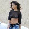 Rihanna 'We Found Love' Shoot in Ireland -