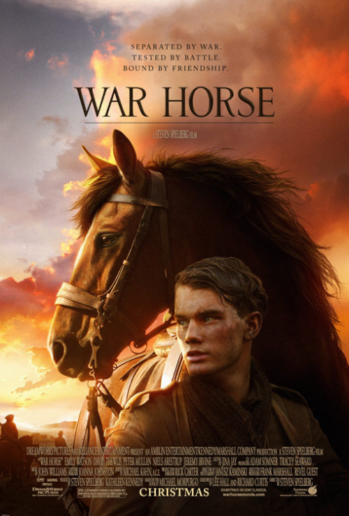 &#8216;War Horse&#8217; Official Movie Poster is Touching