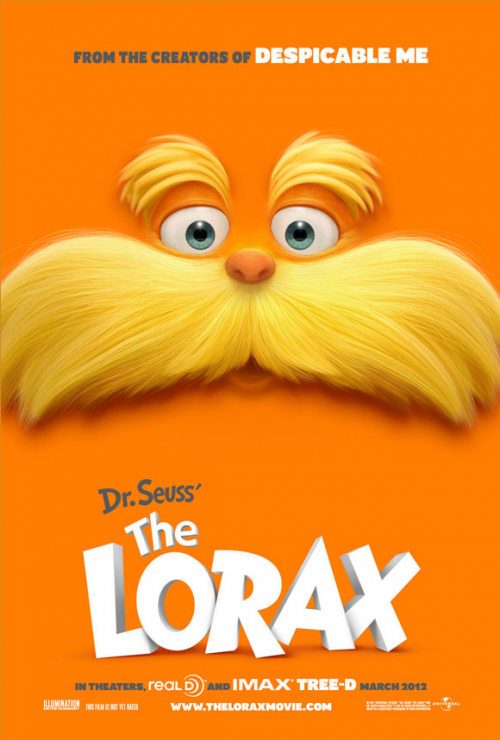 Dr. Suess: 'The Lorax' Movie Poster Has Landed