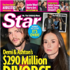 Ashton Kutcher and Demi Moore Divorce Star Cover