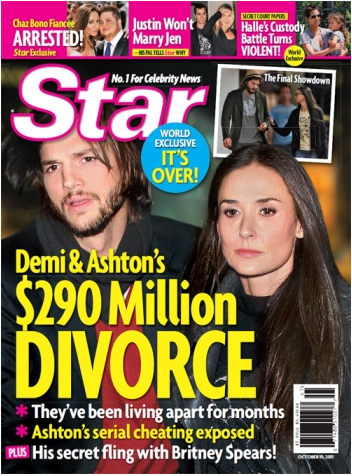 Report: Ashton Kutcher and Demi Moore SPLIT, Divorce Underway