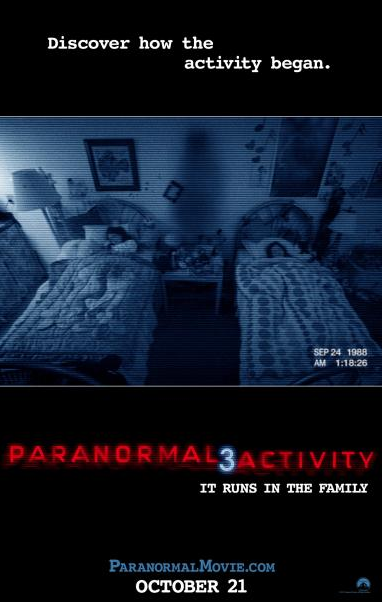 NEW: 'Paranormal Activity 3′ Trailer is FREAKING Me Out