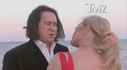 Congrats! Gene Simmons and Shannon Tweed Make It Official