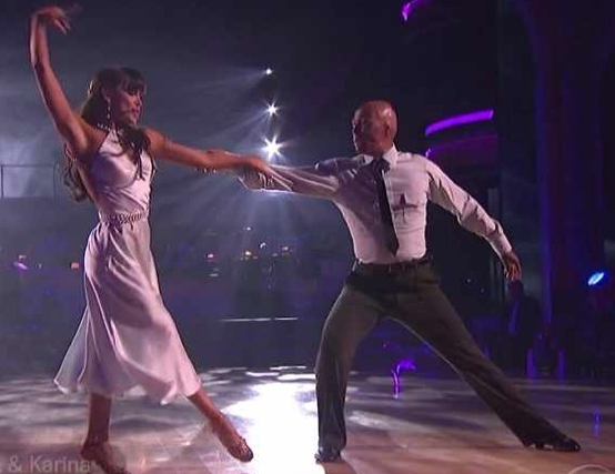 J.R. Martinez and Karina Smirnoff - Week 3