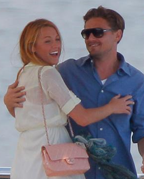Blake Lively and Leonardo DiCaprio, Yaught