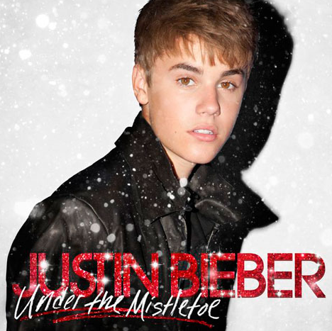 Justin Bieber - Under The Mistletoe - Cover Art