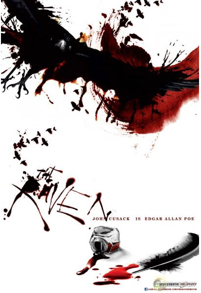 John Cusack: &#8216;The Raven&#8217; Official Trailer and Poster&#8230;. Are BLOODY