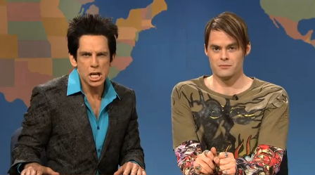 SNL - Ben Stiller as Zoolander