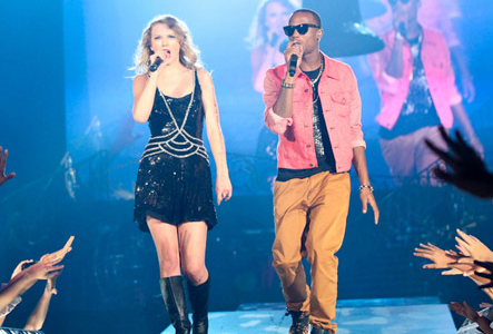 Taylor Swift and B.o.B.