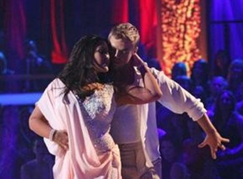 Ricki Lake and Derek Hough - Week 4 - DWTS