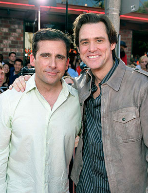 Jim Carrey and Steve Carrell