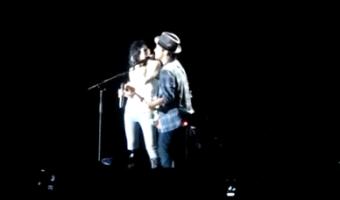 Bruno Mars and Skylar Grey ROCK 'Make It Rain' – VIDEO