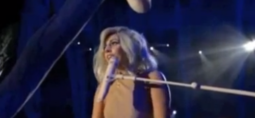 "VIDEOS: Lady Gaga Drops ""F-Bomb"" For Clinton + FULL Performance"