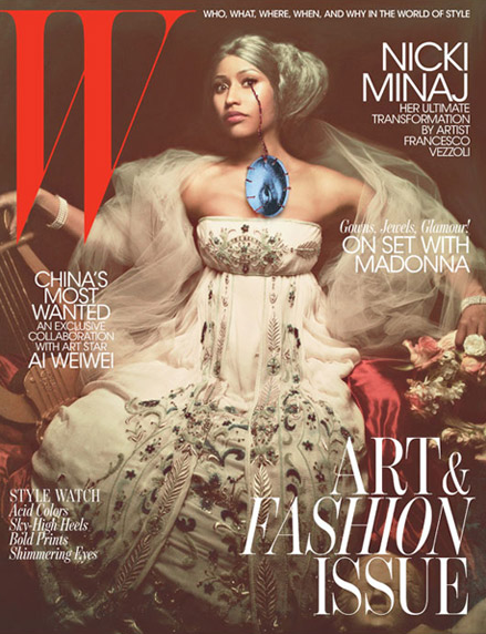 PHOTOS: A Beautiful NEW Side to Nicki Minaj
