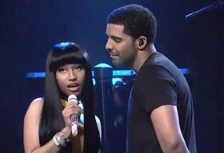 Nicki Minaj  and Drake - SNL - Make Me Proud