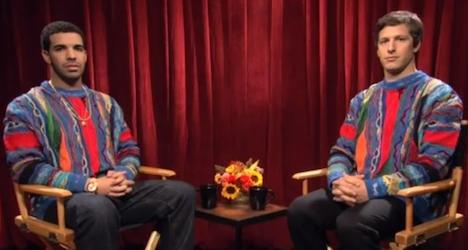 Drake and Andy Samberg - SNL DIgital Short