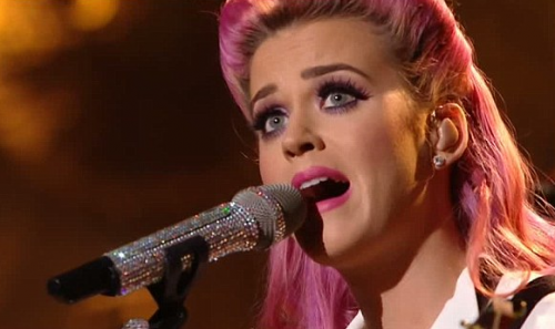 VIDEO: Katy Perry ROCKS &#8216;The One That Got Away&#8217; on X Factor