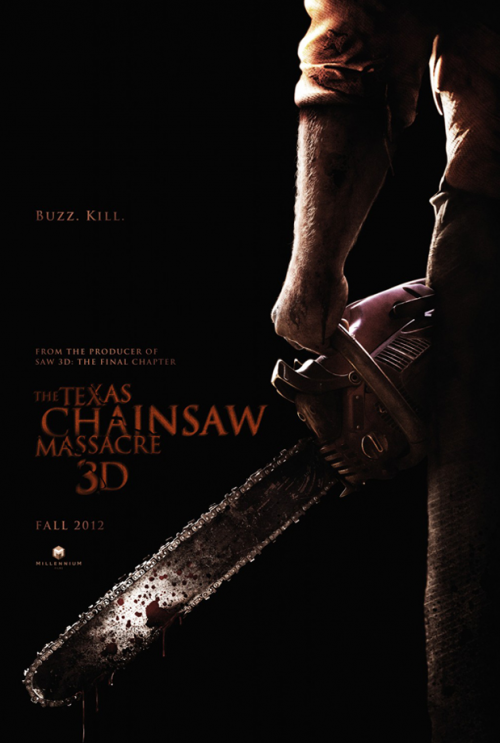 'Texas Chainsaw Massacre 3D' Teaser Poster is Nasty