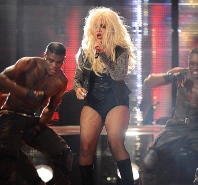 Why Did Christina Aguilera Turn Into a Pork Chop?