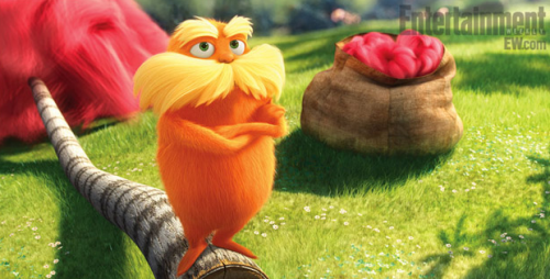 BRAND NEW: Dr. Suess 'The Lorax' Trailer is All FUN!