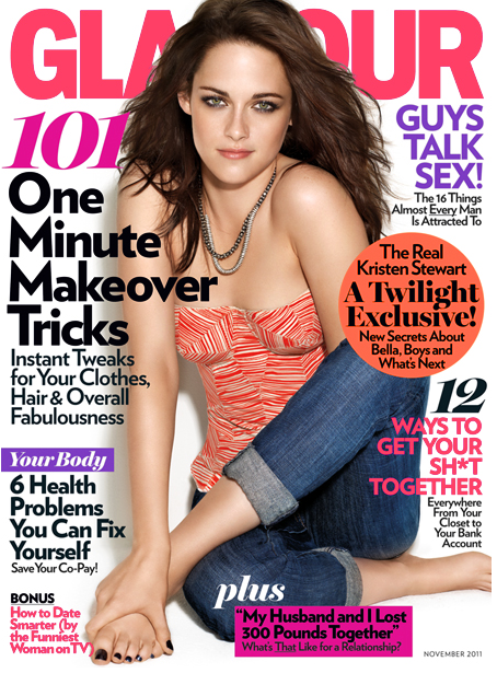 PHOTOS: Kristen Stewart Stuns For Glamour Mag – Nov. 2011