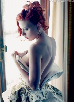 Scarlett Johansson - Vanity Fair - Nov. 2011 inside