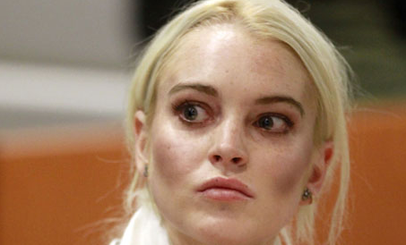 Lindsay Lohan - 6 Days In Jail