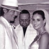 Ashton Kutcher and Demi Moore Wedding Photo