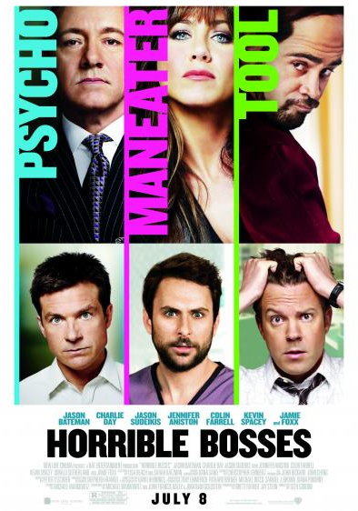 Horrible Bosses - New Movie Poster