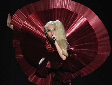 VIDEO: Lady Gaga ROCKS 'Marry The Night' at 2011 MTV EMAs