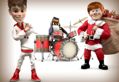Watch: Justin Bieber is ANIMATED for 'Santa Claus Is Coming To Town' Music Video