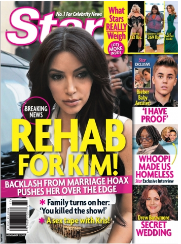 Kim Kardashian - Sex Tape - Rehab Star Mag
