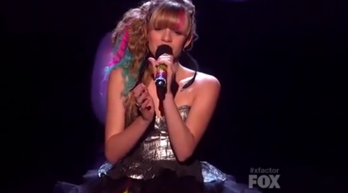 'X Factor' Drew 'Fix You' Top 11 Video