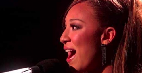 'X Factor' Top 5 Melanie Amaro Performs Whitney Houston 'When You Believe' VIDEO