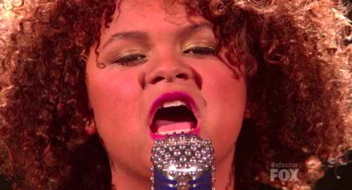 X Factor: Rachel Crow 'I'd Rather Go Blind' – Top 11 Video