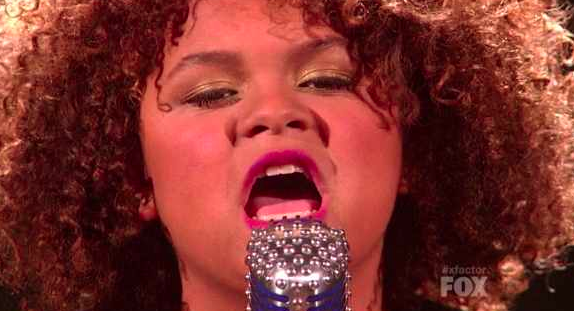 X Factor Top 11 - Rachel Crow