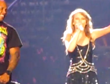 Taylor Swift and Flo Rida in Miami