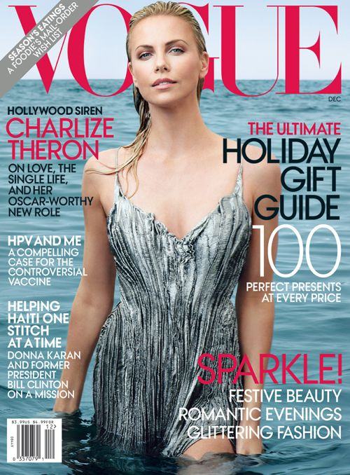 PHOTOS: Charlize Theron is Stunning For Vogue – Dec 2011