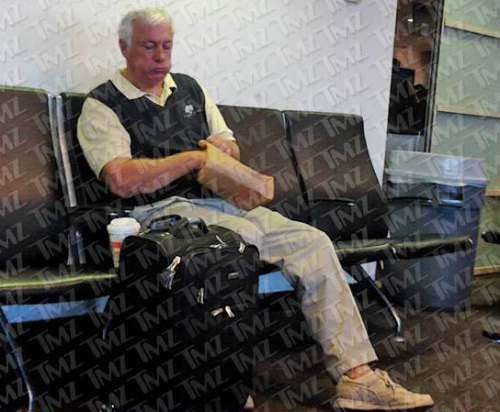 Rapist: Jerry Sandusky Comes Out of Hiding – PHOTO