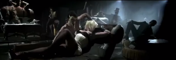 Britney Spears 'Sweet Dreams' Video - Marilyn Manson