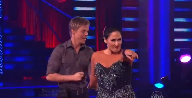 Ricki Lake Derek Hough - Ch Cha Relay