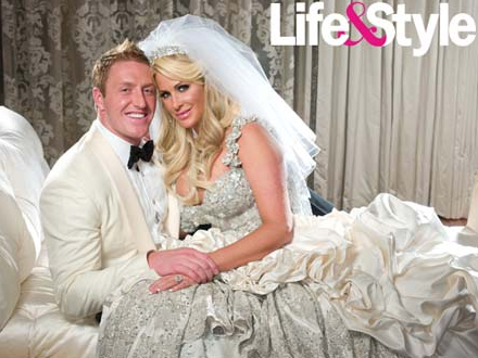 FIRST PHOTO: Kim Zolciak and Kroy Biermann Wedding Album!