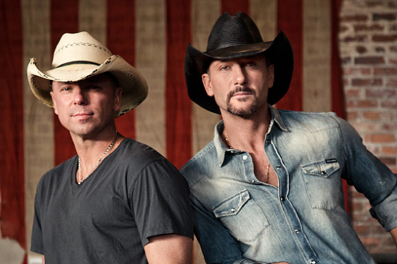Tim McGraw and Kenny Chesney - Brothers of the Sun Tour 2012