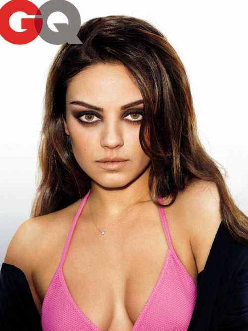 PHOTOS: Mila Kunis ROCKS Pink Bikini For GQ As The 'Knockout of the Year' For 2011