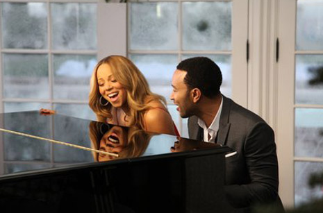 Mariah Carey and John Legend 'When Christmas Comes'