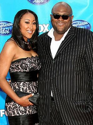 Ruben Studdard and wife, Surata Zuri McCants - American Idol