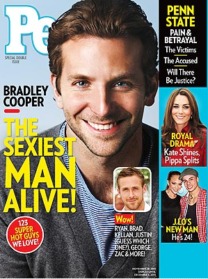 People Magazine: Sexiest Man Alive 2011 is Bradley Cooper