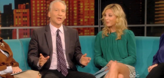 Best Enemies? Elisabeth Hasselbeck and Bill Maher &#8211; The Battle Continues &#8211; VIDEOS